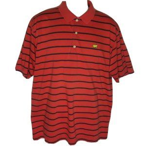 Master Collection Polo Shirt Men's Size Large Red